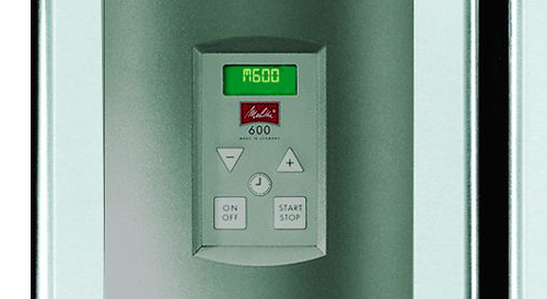 Melitta® 600 - Minuteur intégré