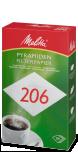 Papier filtre Melitta® PA SF 206 G