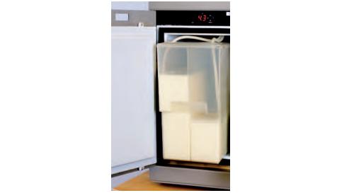 Cafina® ALPHA - 2 réservoirs à lait